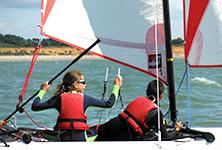 catamaran pour ados et adultes à partir de 13 ans, club nautique de pénestin