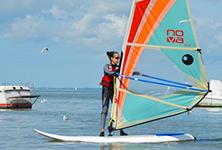 Stage de planche à voile pour adolescents et adultes au Centre nautique de Pénestin, sud morbihan 56